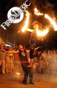 TŰZVARÁZS produkció - Tűzzsonglőr csapat, Budapest [Pepita Hirdető]