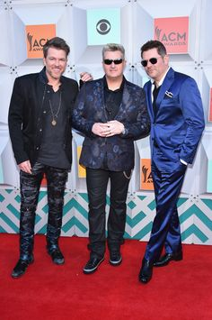 Rascal Flatts on the ACM red carpet. Academy Of Country Music, Country Music Awards, Face The Music, Rascal Flatts, Big Star, Red Carpet Looks, Just For Fun, Singers, Dancing