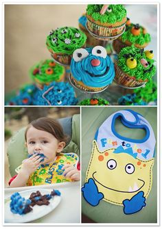Little Monsters Birthday Party | Luminaire Images
