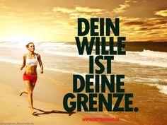 Dein Wille ist deine Grenze.#Fitness #Motivation