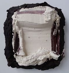 Bram BOGART, Brun-Blanc, 198820 x 19 inches, 51 x 48 cm - oil and water color on wood Expressionist Artists, Artistic Installation, Action Painting, Painter Artist, New Theme, Sculpting, Contemporary Art, Art Photography, Abstract Art