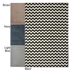 Alexa Chevron Vibe Zebra Rug:  (8' x 10'), $152 [Item#: 13460849] // (5'3 x 7'6), $81 [Item#: 13450193]