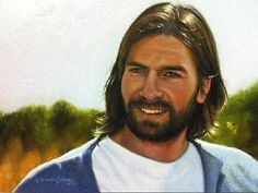 A image of the Savior painted by Liz Lemon Swindle. God and Jesus Christ Jesus Our Savior, God Jesus, Jesus Christ, Pictures Of Christ, Church Pictures, Lds Pictures, Arte Lds, Jesus Smiling, Liz Lemon Swindle
