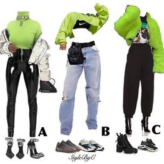 8 School Outfits Edgy - school outfits edgy Since the all-around bang of K-dramas and K-Pop idol groups, Korean clothes accept been rapidly demography over Grunge Outfits, Neon Outfits, Stage Outfits, Teen Fashion Outfits, Retro Outfits, Girly Outfits, Casual Outfits, Edgy School Outfits, Black Women Fashion