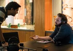 Halt and Catch Fire S3E3 - Ryan Ray (Manish Dayal) and Joe MacMillan (Lee Pace) in Episode 3 Photo by Tina Rowden/AMC
