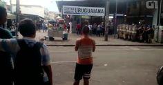 Confusão no Camelódromo fecha Uruguaiana e acessos ao metrô, Rio