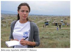 Angelina Jolie...because she's pretty incredible. Read her book on working with UNHCR and UNICEF. It's amazing.