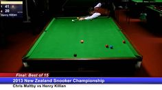NZ Snooker Championship 2013 / Final : Session 2