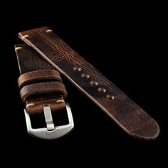 Military 103 Leather Watch Strap