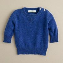 Babies totally need $125 cashmere sweaters, right?!