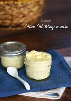 Olive Oil Mayonnaise