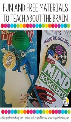 Did you know there's a Brain Awareness Week in March? Click through to learn all about it and how you can celebrate in your classroom! Great ideas for your and grade students! Counseling Activities, Brain Activities, School Counseling, Educational Activities, Activities For Kids, Brain Based Learning, Student Gifts, Student Teacher, Gifted Kids