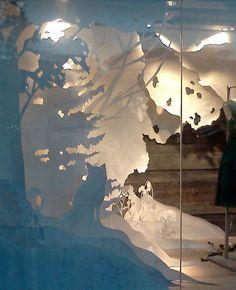 Anthropologie Holiday Display: Windows on RISD Portfolios