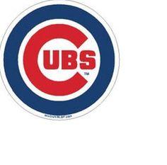 Chicago Cubs Die Cut Refridgerator Magnet