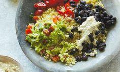 Ella Woodward: Mexican quinoa bowl