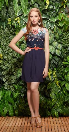 Vestido Hibisco Tropical | Lookbook | Antix Store