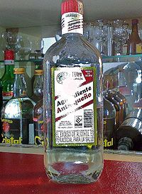 Aguardiente - Brazil, Colombia, Costa Rica, Chile, Ecuador, Haiti, Mexico, Portugal, Sardinia, Spain & United States