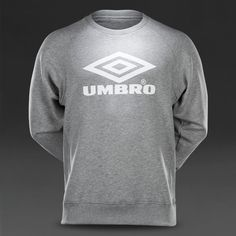 Umbro Pro Training Classic Crew Sweater - Grey Marl