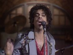 Unforgettable: Prince performed on the show several times, the first of which was in 1981...