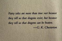 GK Chesterton Quote ( Chesterton house website design ideas)