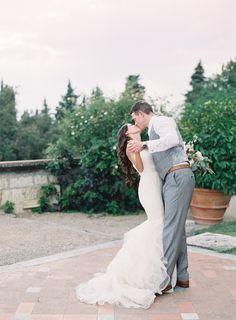 Castello Di Vincigliata, Florence  Photography: Jen Huang http://www.stylemepretty.com/2015/01/26/destination-florence-castle-wedding/