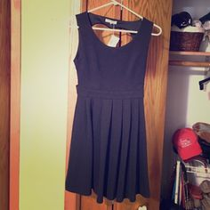 Cut-out black dress Size Small, never worn Dresses