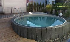 de - Build your own pool! We can help you with that!de - Build your own pool! We can help you with that!de - Build your own pool! We can help you with that! Above Ground Pool, In Ground Pools, Piscina Oval, Backyard Sitting Areas, Build Your Own Pool, Underground Pool, Retaining Wall Design, Terrasse Design, Pool Contractors