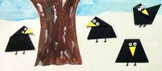 Havrani ze skládačky Bunt, Origami, Kindergarten, Flag, Collage, Snow, Carnavals, Christmas Decorations, Calendar