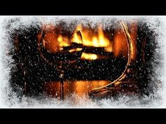 ❅ Cosy Winter Fire and Whistling Wind - YouTube