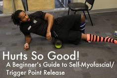 Hurts So Good: A Beginner's Guide Self-Myofascial/Trigger Point Release Trigger point release can rid knots, ease muscle tightness, and keep your body in peak physical performance. Here are some exercises. Roller Stretches, Foam Roller Exercises, Stretching Exercises, Pilates, Myofacial Release, Trigger Point Therapy, Trigger Point Massage, Trigger Points, Injury Prevention