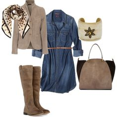 """""""Knit Blazer - Fall Outfit"""" by tinaadamsconsul on Polyvore"""