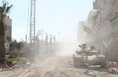 The Dust of the war. Syria, War