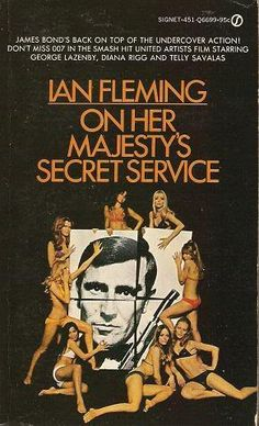 James #Bond on her majesty's secret service Ian #fleming #007