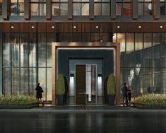 Entrance at Yorkville Condominiums by Lifetime Developments