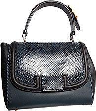 Fendi Handbags - Fall - Winter 2012/13 - Leather, Black & Blue - Ladies Stylish Handbags... http://ladiesstylish.com/handbags.html #LadiesStylish #Designer #Handbags