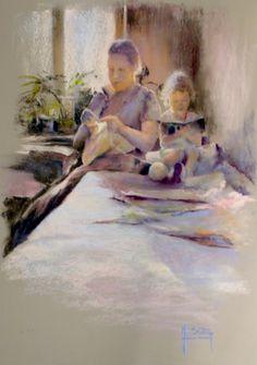 Pastels, Blog, Painting, Childhood Memories, Artist, Painting Art, Paintings, Painted Canvas, Drawings
