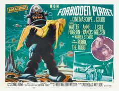 Forbidden Planet. This is one of my all-time favorites, I used to watch this all the time when I was little