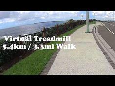 Virtual Treadmill Walk 5.4km / 3.3mi @ 6.3kph / 3.9mph - Warilla to Barr...