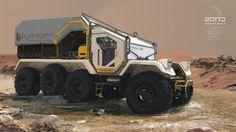 ArtStation - Modular Vehicle photobash practice, Kirill Udodov