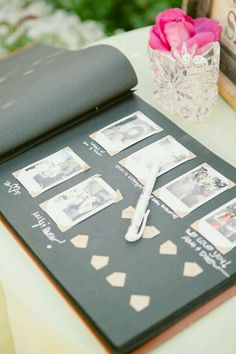 Polaroid Guest Book! ABSOLUTELY love this idea