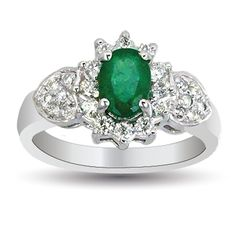 Maia Emerald Cocktail Ring