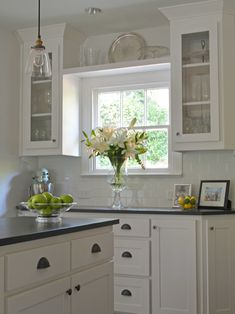 Great Decoration Of Kitchen Wall Shelving Ideas: Amusing Traditional Kitchen Kitchen Wall Shelving Ideas Above The Window Between The Cabinets Adds A Ton Of Storage And Makes It Feel So Much Bigger