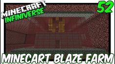 """Minecart Blaze Farm"" [52] Minecraft Bedrock Infiniverse"