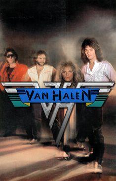 1978 Van Halen poster