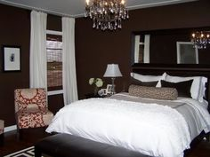 things I could do with our brown master bedroom