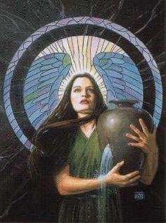Artículos similares a Angel pendant - the Source by Corey Wolfe en Etsy Sacred Feminine, Feminine Energy, Angel Pendant, Mary Magdalene, Angel Art, Tarot, How To Look Better, Art Pieces, Fair Grounds