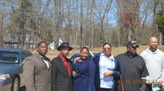 Francine ( 3rd from the right) and some of  her Miss and DC family members. Taken in Baldwyn,Ms.