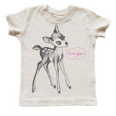 Atsuyo et Akiko Bambi Bonjour Tee // poppyscloset.com #kids #tees