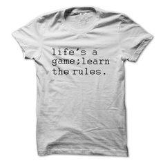 Learn The Rules T-Shirts, Hoodies, Sweatshirts, Tee Shirts (19.5$ ==► Shopping Now!)