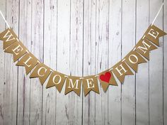 Welcome Home Sign Military Homecoming Housewarming Party Welcome Back Party, Welcome Back Home, Military Welcome Home, Welcome Home Soldier, Welcome Home Signs, Welcome Home Banners, Welcome Home Parties, Welcome Home Decorations, Diy Party Decorations
